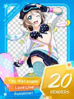 Watanabe You 01 by Haru200