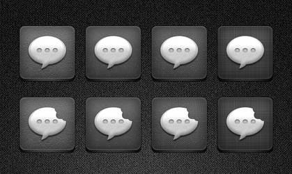SMS/BiteSMS Jaku Icons by bblake