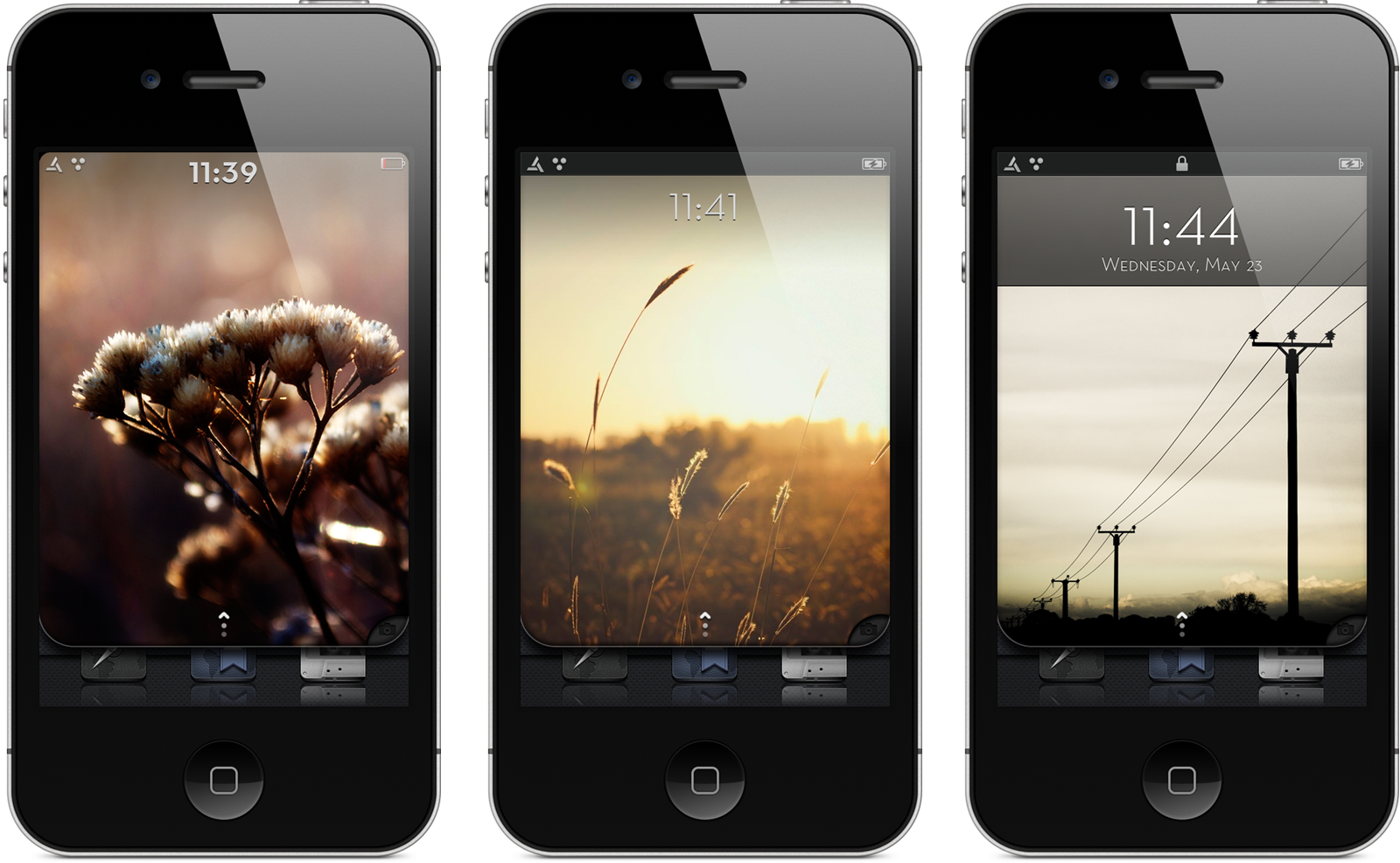 Minimal Android Lockscreen by bblake