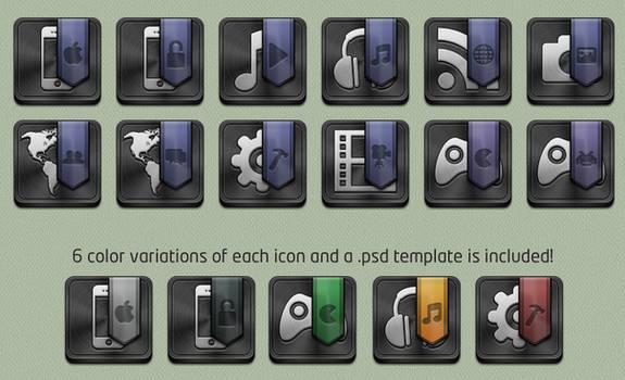 Folder Icons for Jaku