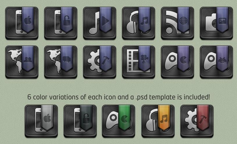 Folder Icons for Jaku by bblake