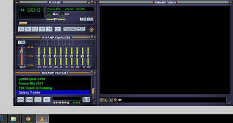Winamp Base (Winamp2 Classic) Skin for VLC