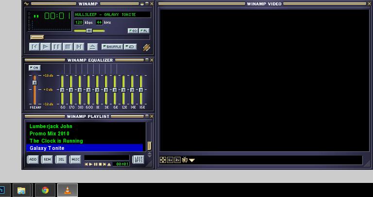 Winamp Base (Winamp2 Classic) Skin for VLC by Baegus