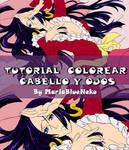 Colorear Cabello y Ojos by MariaBlueNeko