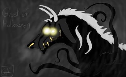 Ghost Of Halloween by WolfDragonCatAngel