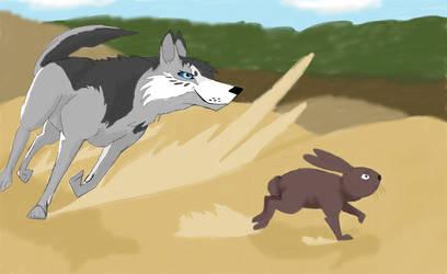The Hunt: Scenario 1 by WolfDragonCatAngel