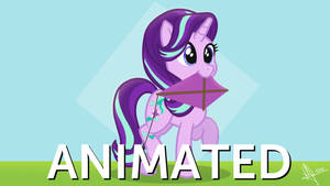 Starlight Glimmer and her kite - Animation Colored