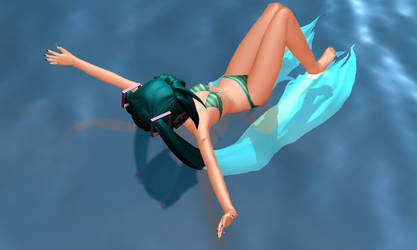 MMD Swimming Animation Download by Hogarth-MMD