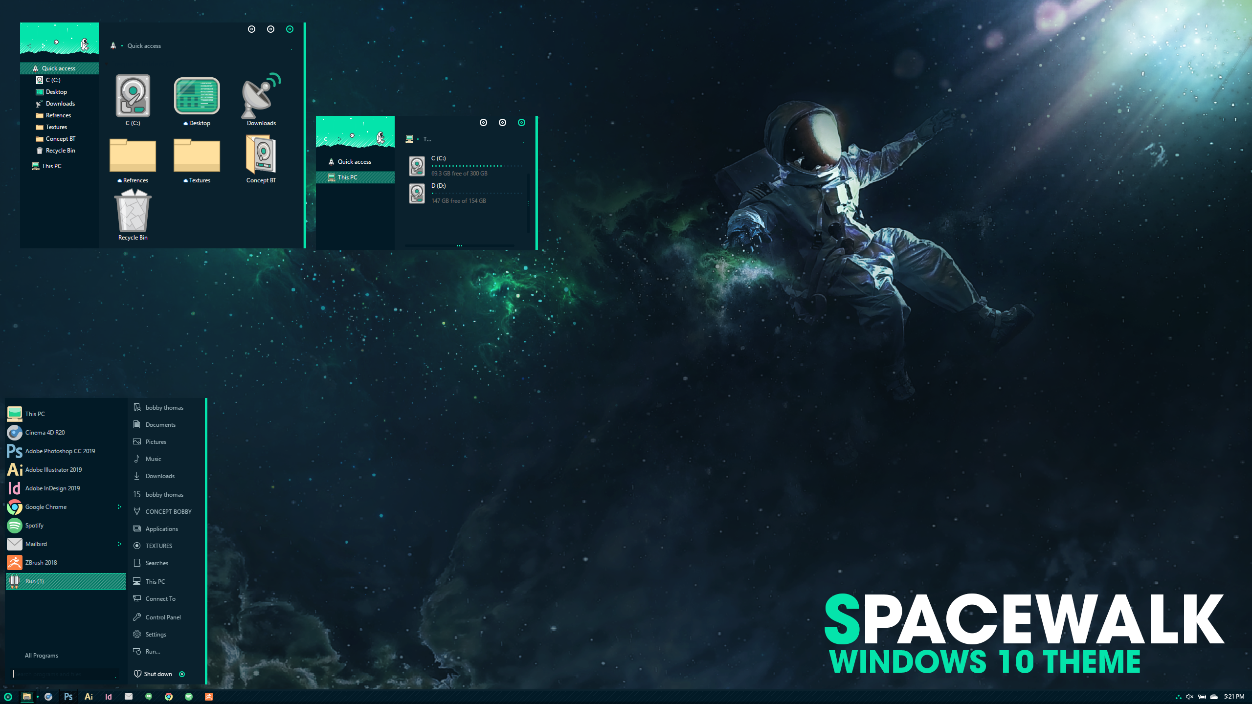 Space Walk  UPDATED FOR 1903