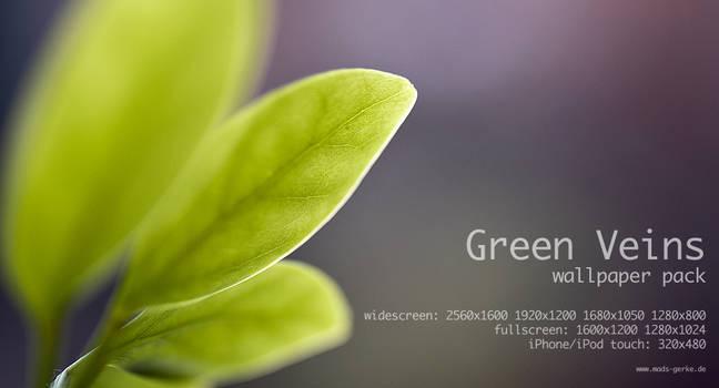 green veins wallpaper pack by Ythor
