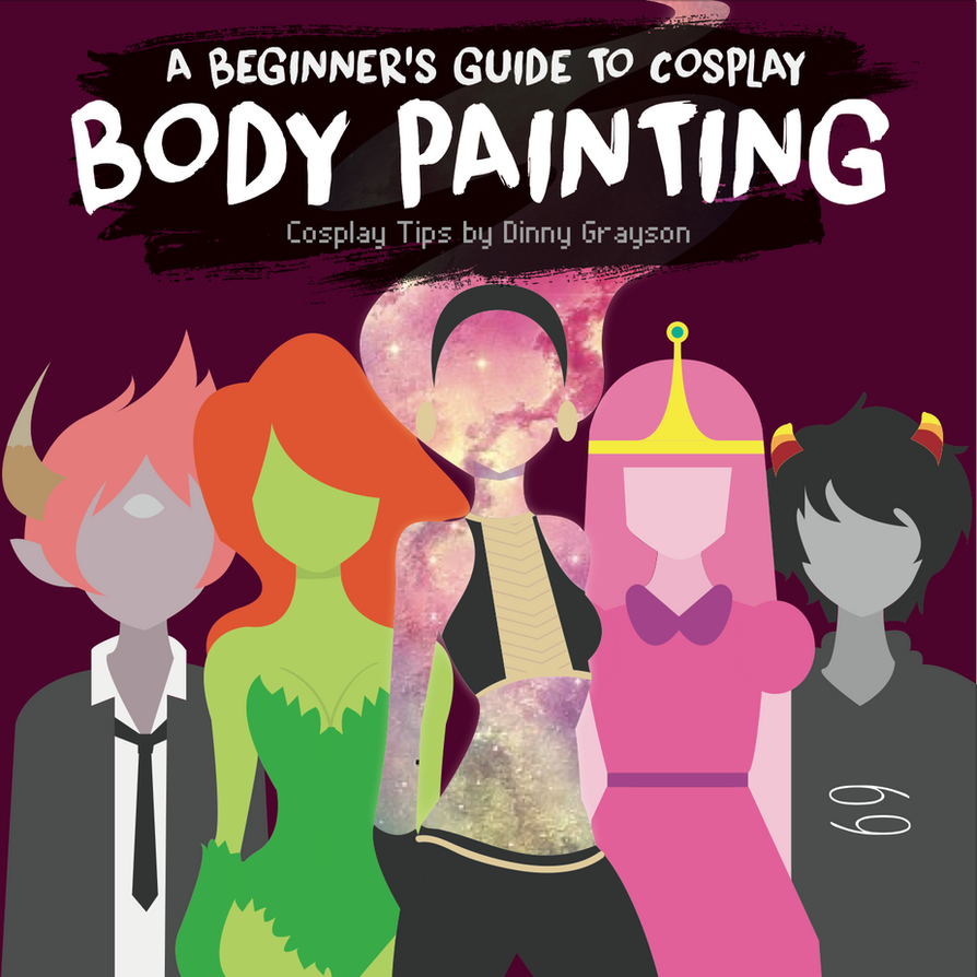 A Guide To: Cosplay Body Paint for Beginners by DinAmplified