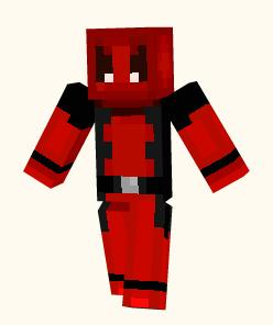 Deadpool Minecraft Skin By CaffeinatedPokedex On DeviantArt - Deadpool skins fur minecraft