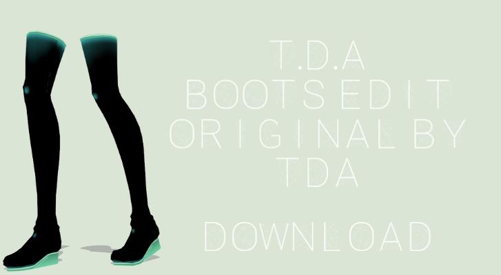 Mmd Tda Boots Dl By Scarlettackerman Deviantart Fondos De Pantalla