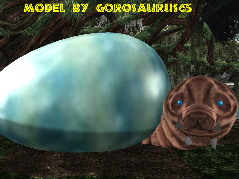 Newcomer Mothra Egg + DL by Gorosaurus65