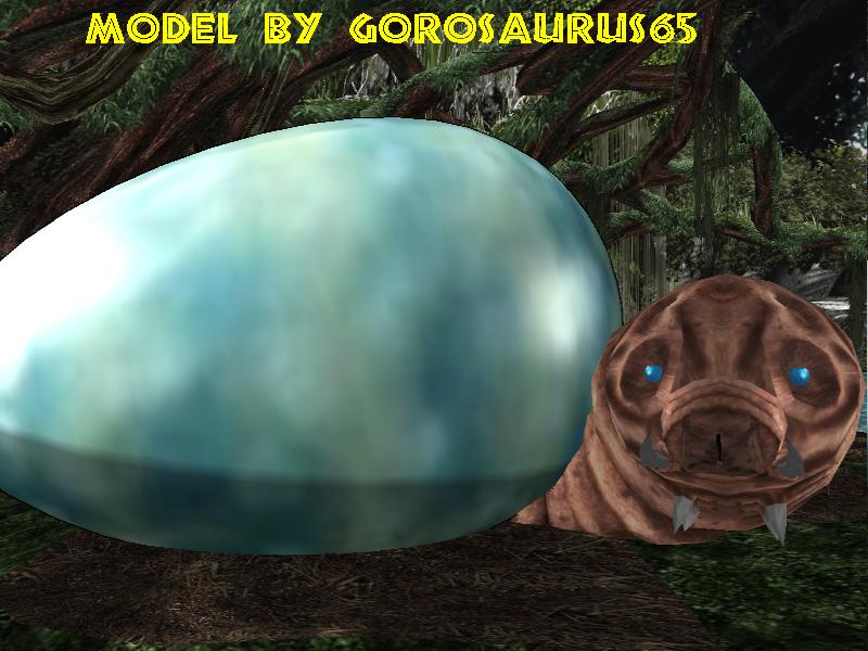 Newcomer Mothra Egg + DL by Gorosaurus65