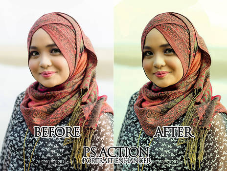 Portrait Enhancer by Topi Merah