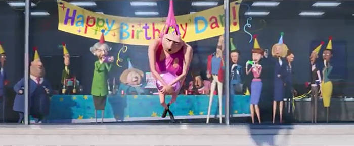 Despicable Me 3: Happy Birthday to Yooouuu!!! LOL!