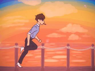 Running around (Neil Watts) by HitTheReplayButton