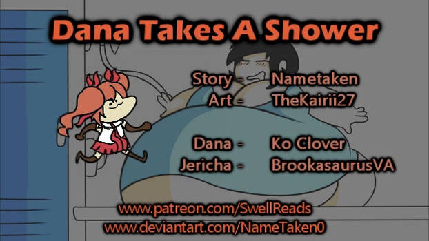 (Inflation Audio Story) Dana Takes A Shower