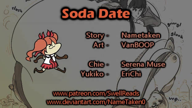 (Inflation Audio Story) Soda Date