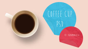Coffee Cup PSD (editable)