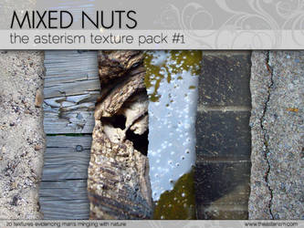 Texture Pack No. 1: Mixed Nuts by miluette