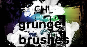 Chl grunge texture brushes
