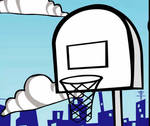 Basketball bird