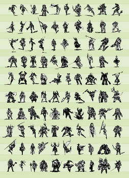 100 Character Concepts