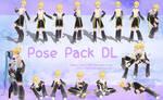 [MMD] Pose Pack DL