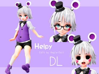 [MMD FNAF] Helpy DL by Angie-Doll