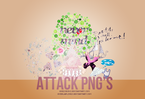 Attack PNG's by one21guns