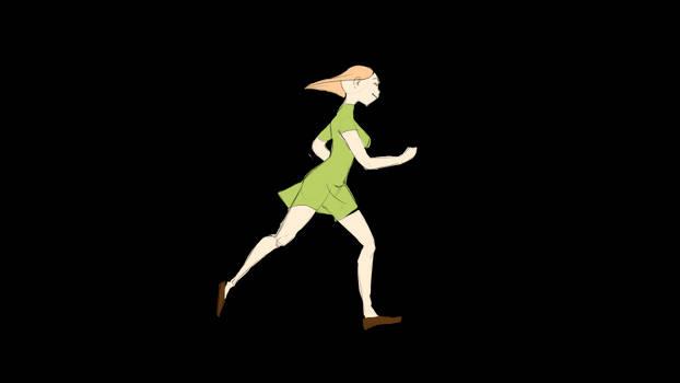 Running animation