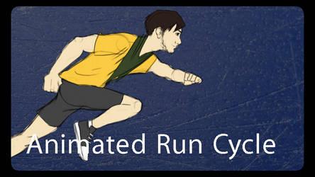 Animated Run Cycle 3
