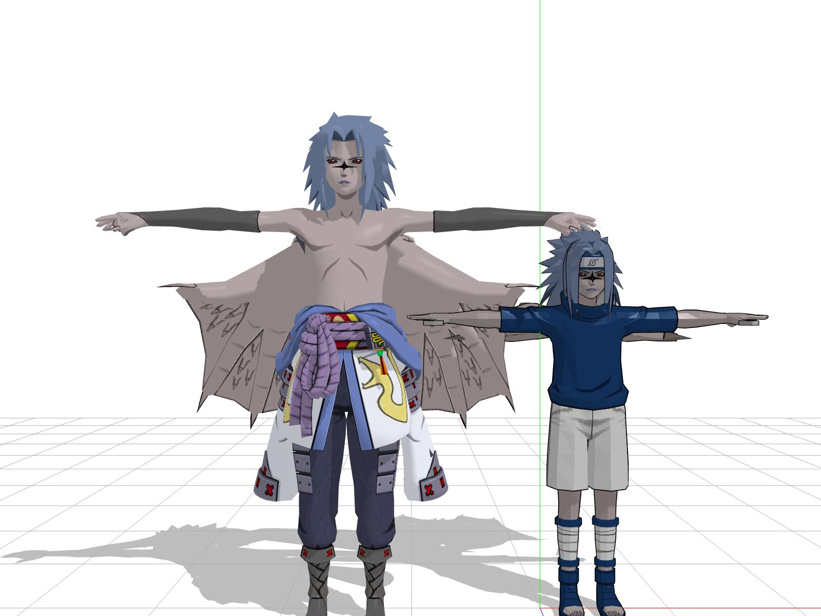 MMD Sasuke Curse Form Unrigged Dl by Subsquentual on ...