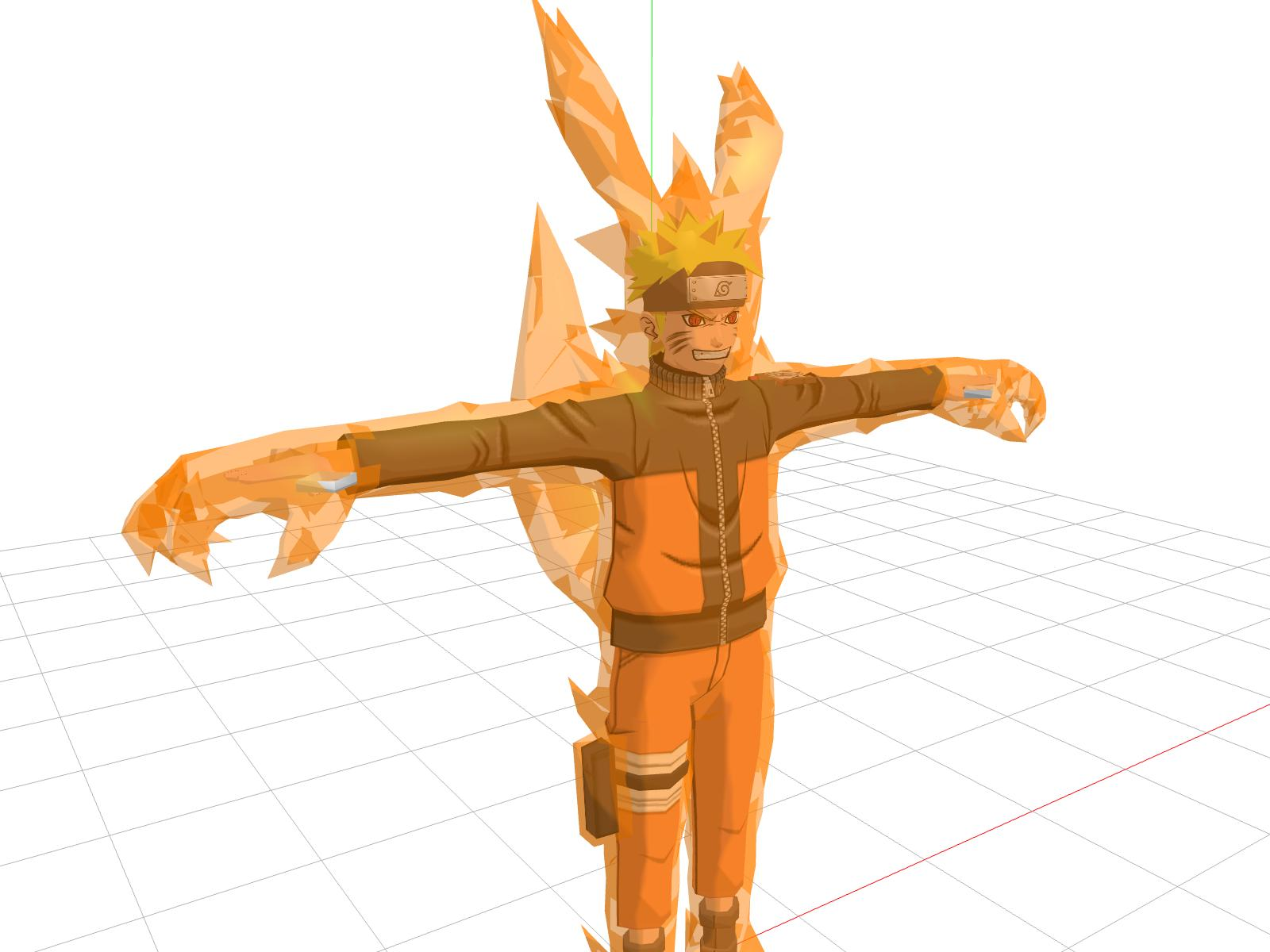 MMD One Tail Kyuubi Naruto Unrigged By Subsquentual On