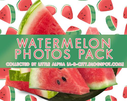 Watermelon photos pack by PannaKim