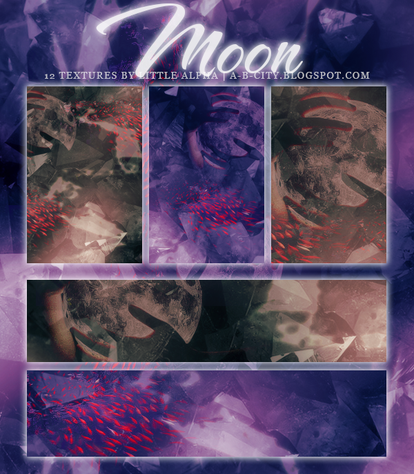'moon' Textures By Little Alpha by PannaKim