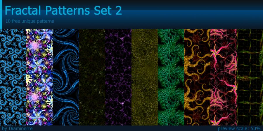 Fractal Patterns Set 2