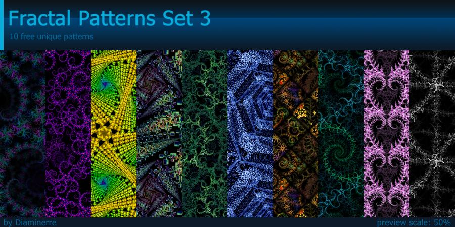 Fractal Patterns Set 3