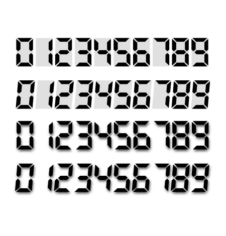 LCD numbers by norbert79