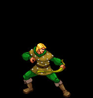 Sprite Art - Hank Dungeons and Dragon's - Stand