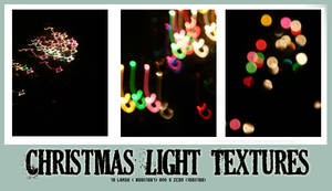 Christmas Light Textures.