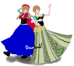 MMD Anna (Frozen) +model download