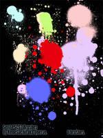 Set2 Splat SprayCan brushes by qnerve