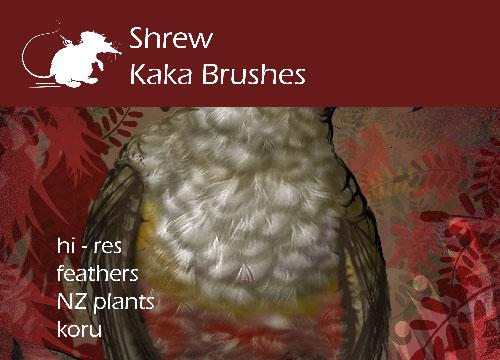 Shrew Kaka Brushes