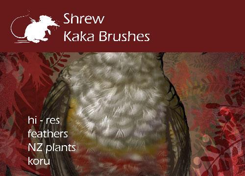 Shrew Kaka Brushes by ArtyShrew