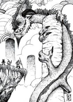 Dragon's Den (Ink)
