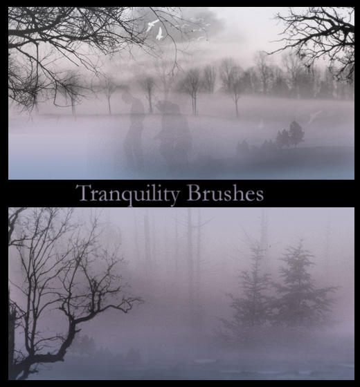 Tranquility Brushes by wyckedBrush
