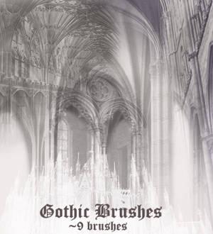 Gothic Brush Set